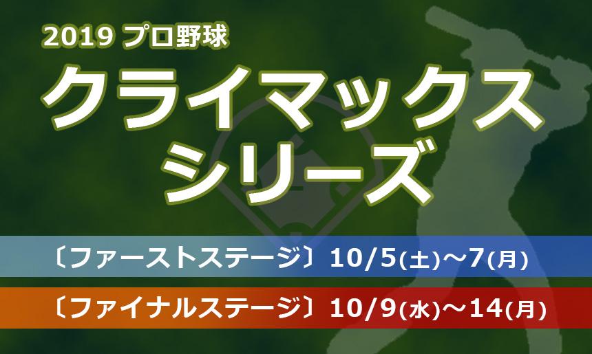 2019年 プロ野球 クライマックスシリーズ