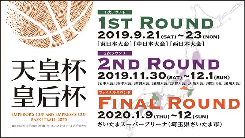 第95回天皇杯・第86回皇后杯 全日本バスケットボール選手権大会