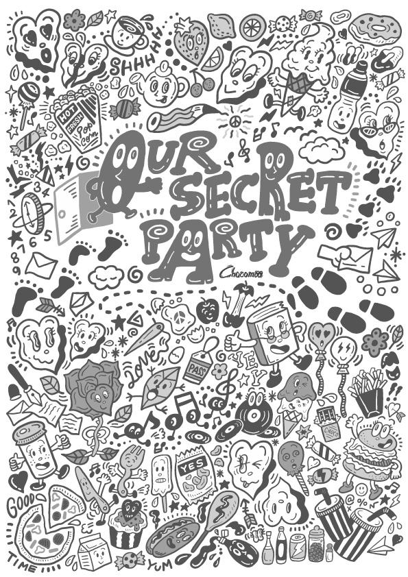 Chocomoo EXHIBITION -OUR SECRET PARTY-(東京)