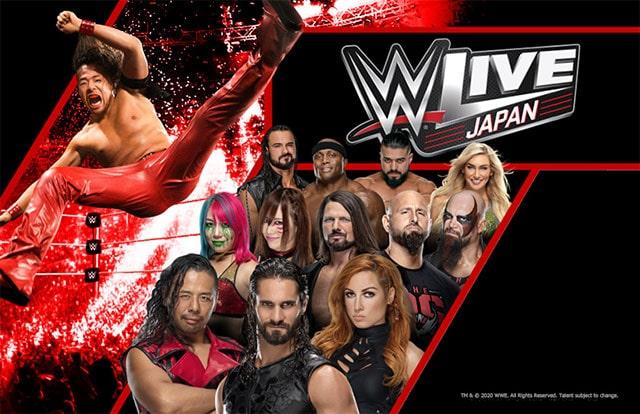 WWE Live Japan 大阪公演