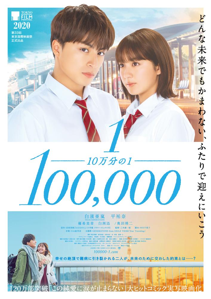 【事前座席選択可】映画『10万分の1』