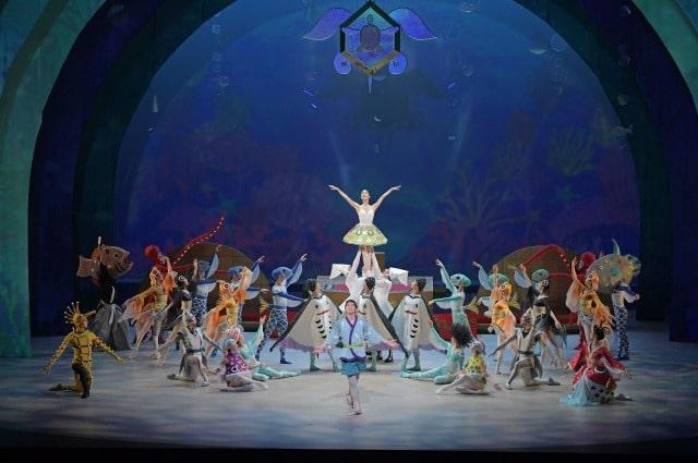 新国立劇場バレエ団 こどものためのバレエ劇場2021 「竜宮 りゅうぐう」~亀の姫と季の庭~