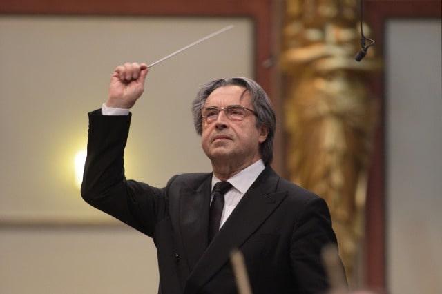リッカルド・ムーティ指揮 ウィーン・フィルハーモニー管弦楽団
