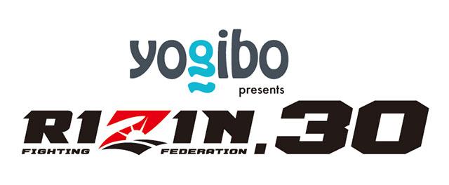 Yogibo presents RIZIN.30