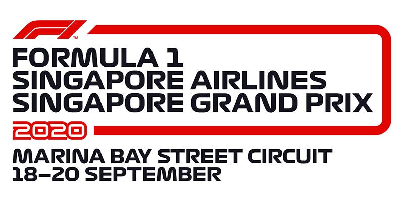 2020 シンガポールグランプリ〔チケット〕