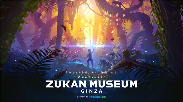 「ZUKAN MUSEUM GINZA」