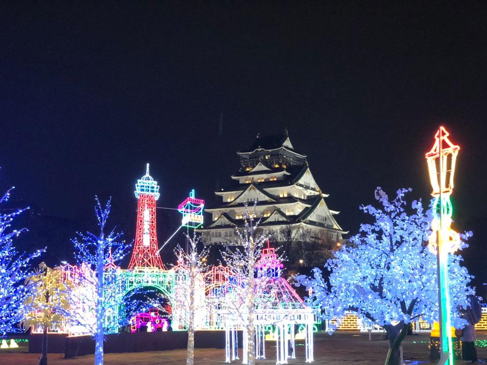 大阪城イルミナージュ(大阪)