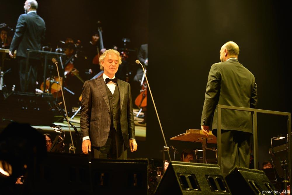 世界的テノール歌手 アンドレア・ボチェッリ 圧巻のステージ