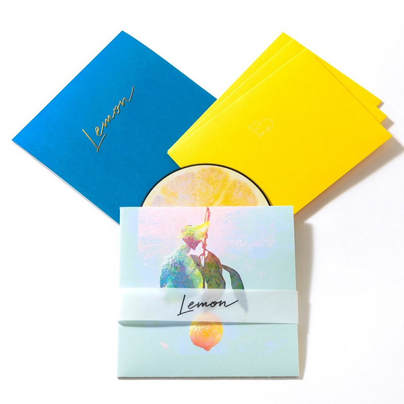 米津玄師 『Lemon』商品写真 ついに公開
