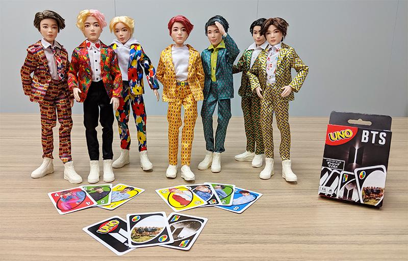 ☆サンプル到着☆】BTS コアファッションドール \u0026 UNO、商品