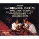La Forza Del Destino: Muti / Teatro Alla Scala Domingo Freni Zancanaro
