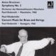 ブルックナー:交響曲第3番(マンハイム州立劇場管 1963)、ヒンデミット:協奏音楽(シュトゥットガルト放送響 1960) ヒンデミット