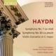 交響曲第7番『昼』、第83番『めんどり』、ヴァイオリン協奏曲第1番 クリストファーズ&ヘンデル&ハイドン・ソサエティ、ノスキー