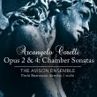 室内ソナタ集 作品2、作品4 パヴロ・ベズノシウク、エイヴィソン・アンサンブル(2CD)