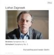 ブラームス:交響曲第1番、シューベルト:交響曲第3番 ローター・ツァグロゼク&ベルリン・コンツェルトハウス管弦楽団 (2枚組アナログレコード)