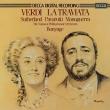 『椿姫』全曲 ボニング&ナショナル・フィル、ジョーン・サザーランド、ルチアーノ・パヴァロッティ、他(1979 ステレオ)(2CD)