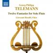 12の無伴奏フルートのための幻想曲 ジョヴァンニ・ロセッリ
