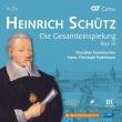ハインリヒ・シュッツ作品集 第3集 ハンス=クリストフ・ラーデマン&ドレスデン室内合唱団(9CD)