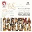 オルフ:カルミナ・ブラーナ、ガーシュウィン、ベートーヴェン マイケル・ティルソン・トーマス&クリーヴランド管弦楽団、ニューヨーク・フィル、他(2SACD)