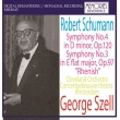 Symphonies Nos.3, 4 : George Szell / Concertgebouw Orchestra, Cleveland Orchestra (1966, 1965)