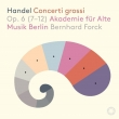 Concerti Grossi Op.6, 7-12 : Forck(Vn)Akademie Fur Alte Musik Berlin (Hybrid)