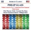 ヴァイオリン協奏曲第2番『アメリカの四季』、ヴァイオリン・ソナタ ピョトル・プラヴネル、フィリップ・バッハ&ベルン室内管弦楽団、ヘラルド・ヴィラ