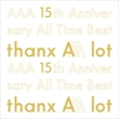 AAA 15th Anniversary All Time Best -thanx AAA lot-【初回生産限定盤】