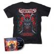 Space Ninjas From Hell: Cd +T-Shirt Bundle (S Size)