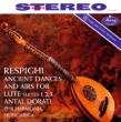 リュートのための古風な舞曲とアリア 第1組曲〜第3組曲:アンタル・ドラティ指揮&フィルハーモニア・フンガリカ (180グラム重量盤レコード)