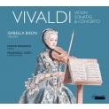 ヴァイオリン・ソナタ&協奏曲集 イザベラ・ビソン、マルコ・フレッツァート、フランチェスコ・コルティ