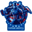 ダイカットステッカー(キャプテン・アメリカ)/ アベンジャーズ4 エンドゲーム