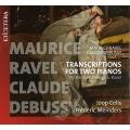 ラヴェル:序奏とアレグロ(2台ピアノ)、弦楽四重奏曲(ピアノ4手)、ドビュッシー:弦楽四重奏曲(ピアノ4手)ヨープ・セリス、フレデリク・マインダース