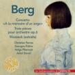 Violin Concerto, 3 Fragments From Wozzeck, Etc: Ferras(Vn)Pretre / Dorati / Pilarczyk