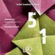 交響曲第5番『革命』、第1番 ジャナンドレア・ノセダ&ロンドン交響楽団(2SACD)