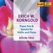 Piano Trio, Violin Sonata: Rohn Trio Rohn(Vn)Hindart(P)