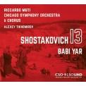 Symphony No.13 : Riccardo Muti / Chicago Symphony Orchestra & Choir, Alexey Tikhomirov(B)