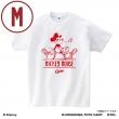 広島東洋カープ Tシャツ (ホワイト / Mサイズ)/ ミッキーマウス<ひとやすみ>