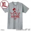 広島東洋カープ Tシャツ (杢グレー / XLサイズ)/ ミッキーマウス<ひとやすみ>