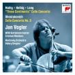 Cello Concerto, 2, : J.vogler(Vc)Gergiev / Kirov Opera O +nico Muhly, Sven Helbig, Zhou Long: Three Continents