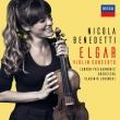 ヴァイオリン協奏曲、愛の挨拶、ため息、夕べの歌 ニコラ・ベネデッティ、ヴラディーミル・ユロフスキー&ロンドン・フィル、ペトル・リモノフ