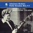 Violin Sonata, 1, 2, 3, : De Vito(Vn)E.fischer Aprea(P)Transfers & Production: Naoya Hirabayashi
