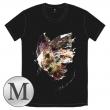 蝶の飛ぶTシャツ[ブラック / M]