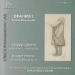 Brahms Symphony No.1, R.Strauss Tod und Verklarung : Roman Brogli-Sacher / Lubeck Philharmonic (Hybrid)