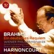 Ein Deutsches Requiem: Harnoncourt / Vpo Kuhmeier Hampson