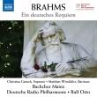 Ein Deutsches Requiem: R.otto / Kaiserslautern Radio Po Mainz Bach Cho Gansh Winckhler