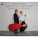 Comp.works For Cello & Piano: Joel Marosi(Vc)Esther Walker(P)+fanny Mendelssohn-hensel