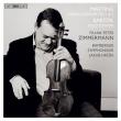 マルチヌー:ヴァイオリン協奏曲第1番、第2番、バルトーク:無伴奏ヴァイオリン・ソナタ フランク・ペーター・ツィンマーマン、フルシャ&バンベルク響(日本語解説付)
