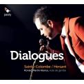 対話〜サント=コロンブ:無伴奏ヴィオラ・ダ・ガンバ組曲集、エルサン:パスコラス、エルサレムへの道 ロナルド・マルティン・アロンソ