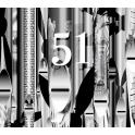『51鍵のラビリンス〜バッハ、ブクステフーデ、パッヘルベル、モーツァルト、他』 大木麻理(ポジティフ・オルガン)