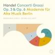 6つの合奏協奏曲、12の合奏協奏曲 ベルリン古楽アカデミー(3CD)